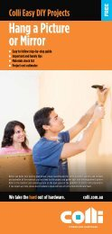 Hang a Picture or Mirror - Colli Timber and Hardware