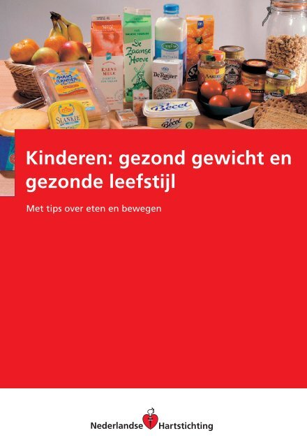 Kinderen: gezond gewicht en gezonde leefstijl