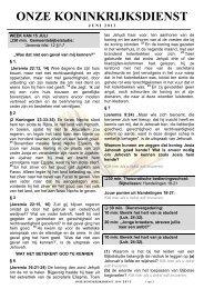 KD + BS formaat A4 - iwout.nl