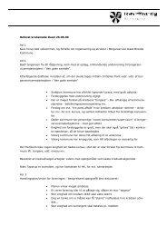 Referat fra møde den 26.5.2009 i Ikast