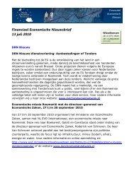 Financieel Economische Nieuwsbrief 13 juli 2010 - Dbrochure