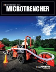 Manual - Ditch Witch