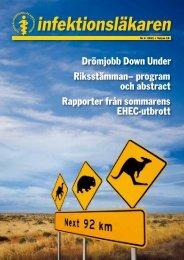 Drömjobb Down Under Riksstämman– program och ... - Infektion.net