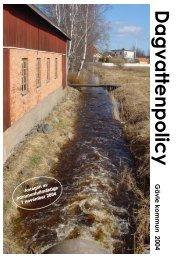 Gävle kommuns dagvattenpolicy - Gästrike Vatten AB