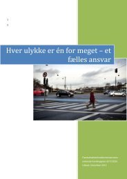 Hver ulykke er én for meget – et fælles ansvar - Rådet for Sikker Trafik