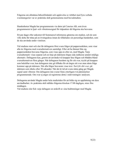 System Magda slutrapport okt 2010.pdf - Cunctus AB