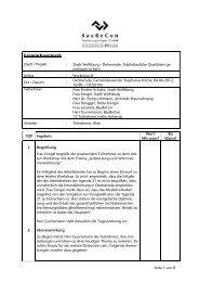 Protokoll Workshop III - Detmerode