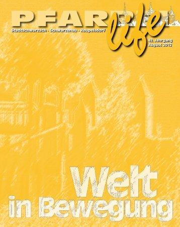 """Pfarrbrief 2/2012 (Titelthema: """"Welt in Bewegung"""") - Auflösung 150 dpi"""