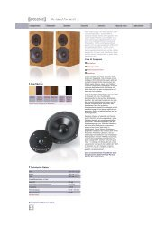 web Yara II family german/english - Audio Physic