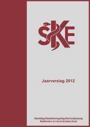 Jaarverslag SKE 2012 - Stichting Klachtenregeling Eerstelijnszorg