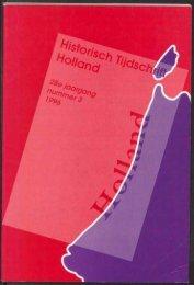 r - Holland Historisch Tijdschrift