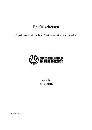 Profielschetsen raadslid en wethouder 2014-2018.pdf - GroenLinks ...
