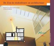 De Zon in stedenbouw en architectuur - Organisatie voor Duurzame ...