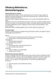 Silkeborg Bibliotekerne Markedsføringsplan