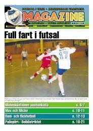 Full fart i futsal - Vifk
