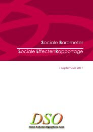 Sociale Barometer Sociale EffectenRapportage