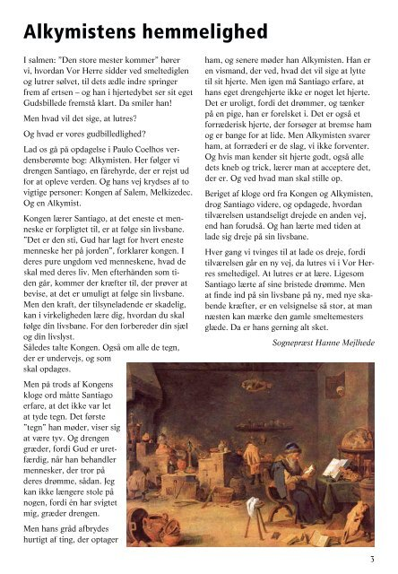Kirkeblad for perioden maj-juni-juli 2008. - Skt. Nikolai Kirke, Holbæk