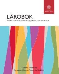 Läs Lärobok för rekryteringsgrupper på universitet och högskolor
