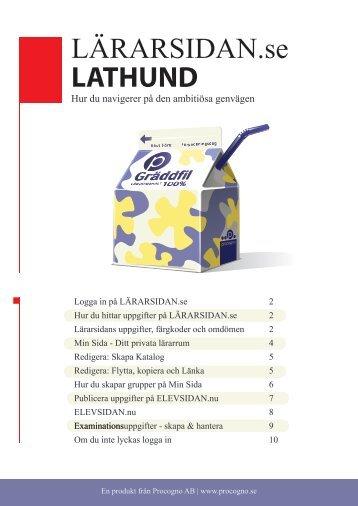 LÄRARSIDAN.se LATHUND