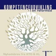 Kompetenceudvikling - i en reformtid - KTO