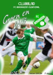 Seizoen 2010-2011 - FC Berghuizen