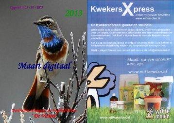 2013 Maart digitaal - de Volière