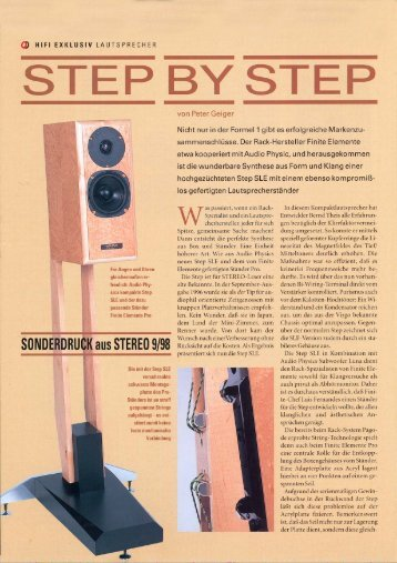hifi exklusiv german review - Audio Physic