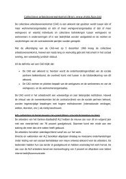 Collectieve arbeidsovereenkomst (Bron: www.meta.fgov.be)