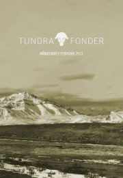 MÅNADSBREV FEBRUARI 2013 - Tundra fonder