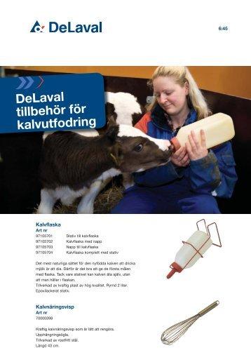 DeLaval tillbehör för kalvutfodring