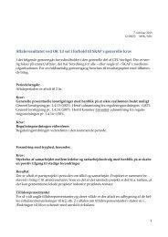 Sammenfatning af CFU-resultat (PDF)