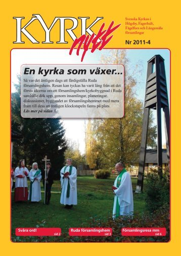 2011 nummer 4 - Minkyrka.se