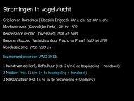 Modern 1900-1950 Spiegel aan scherven: Surreëel. Inleiding ...