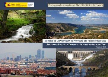 Propuesta de proyecto del Plan hidrológico de cuenca