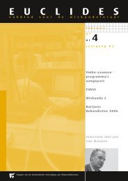 82-4 - Nederlandse Vereniging van Wiskundeleraren