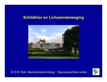 schildklier en sport (2) [Alleen-lezen] - Diaconessenhuis Leiden