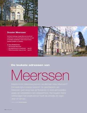 De leukste adressen van - Gemeente Meerssen