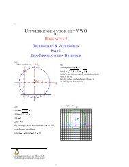 GONIOMETRIE Rechthoekige driehoeken  De     - Molenaarnet org