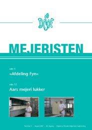 Mejeristen 3 2007 - Danske Mejeristers Fagforening