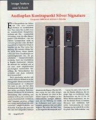 Audioplan kontrapunkt silver signature - U. Kirbach