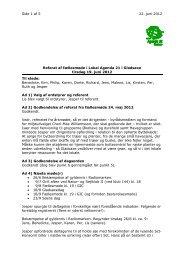 Side 1 af 5 22. juni 2012 Kim Christiansen Marienborg Allé 91 C ...