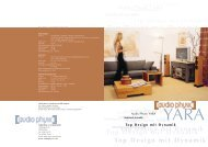 Mehrkanal Ensemble Top Design mit Dynamik - Audio Physic