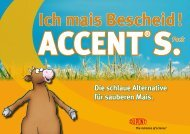 Download Flyer Accent® S Pack - Ich mais Bescheid! - DuPont ...