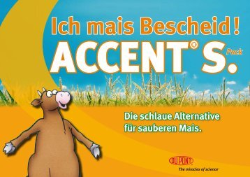 Download Flyer Accent® S Pack - Ich mais Bescheid! - DuPont ...