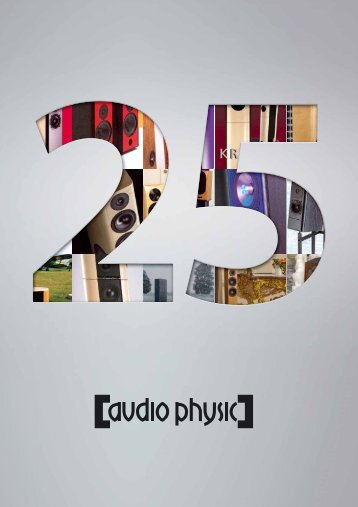 AUDIO PHYSIC catalogue 2010