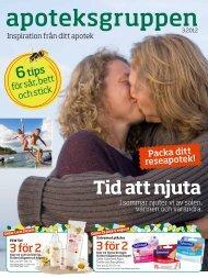 Läs Apoteksgruppen, Inspiration från ditt apotek nummer 3 2012