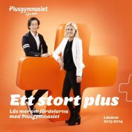 Katalog 2013 - Plusgymnasiet