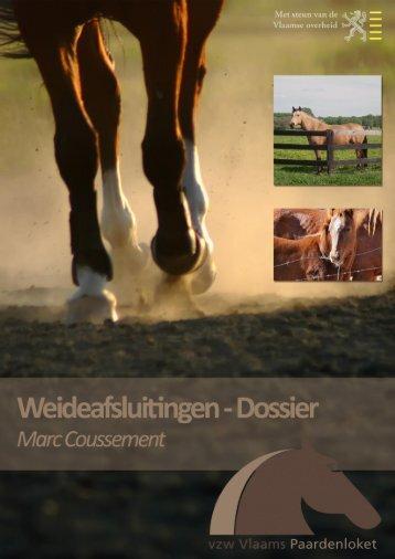 Weideafsluitingen voor paarden - Vlaams Paardenloket