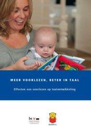 Brochure Meer voorlezen, beter in taal - SIOB