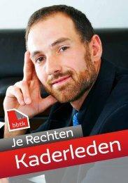 Download de Je Rechten Kaderleden - BBTK